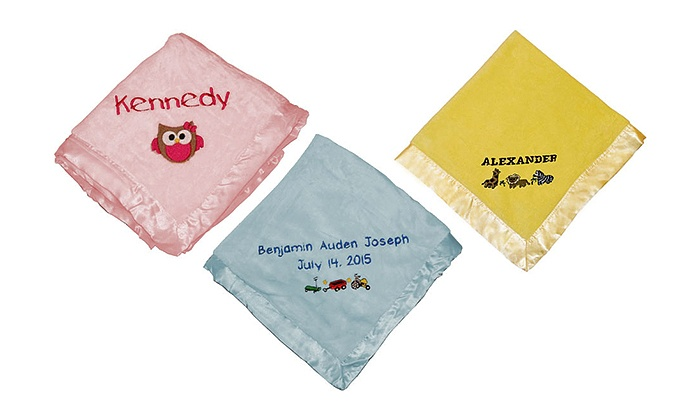 BabyBlankets.com: Personalized Baby Blanket from BabyBlankets.com (Up to 50% Off). Four Options Available.