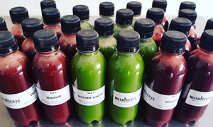 NutriServe: NutriServe: One-Day Cold Pressed Juice Cleanse Consisting of Eight Juices from R169 (32% Off)