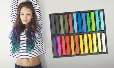 24-Pack of Hair Colour Chalks for £17.9 (Up to 73% Off)