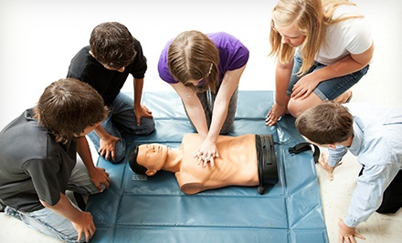 $25 for $50 Worth of CPR and First-Aid Certification Classes at Save 1 CPR