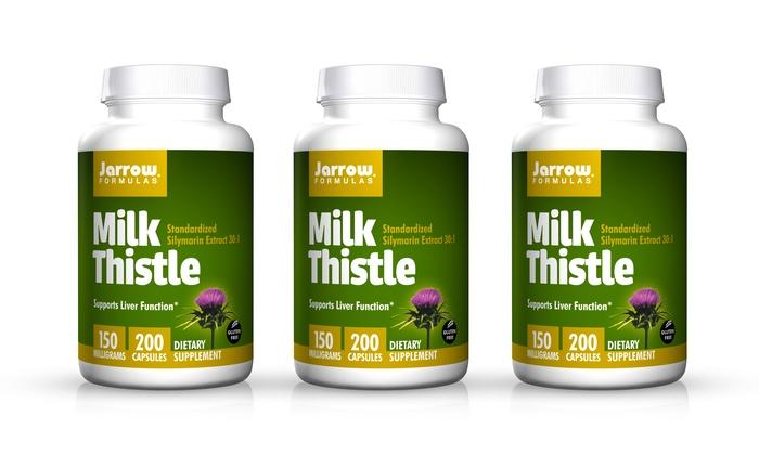 Jarrow formulas milk thistle review
