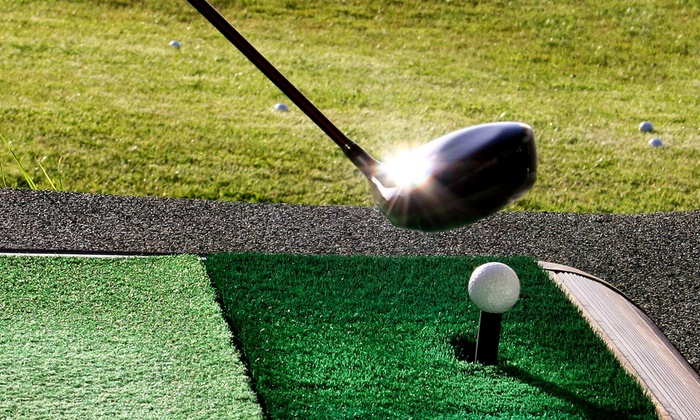 Golf Dome - University Heights: Three or Six Buckets of Driving Range Balls at Golf Dome (Up to 51% Off)