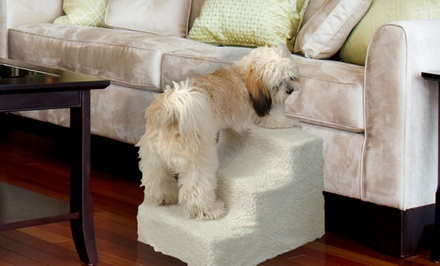 Pet Steps with Fleece Cover