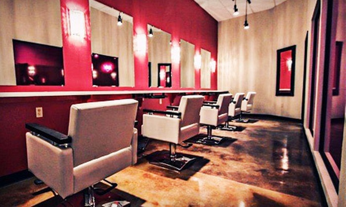 Fuchsia - Mesa: $95 for Three Salon Packages with Shampoo, Deep Conditioning, Head Massage, and Style at Fuchsia in Mesa ($195 Value)