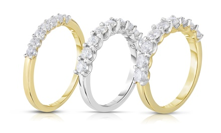 1/4, 1/2, or 1 CTTW Certified Diamond Rings in 14K Gold by Diamond Affection from $299.99–$1149.99