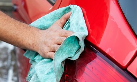 $39 for $80 Worth of Car Washes and Detailing Services at Genie Car Wash and H2O Hand Car Wash