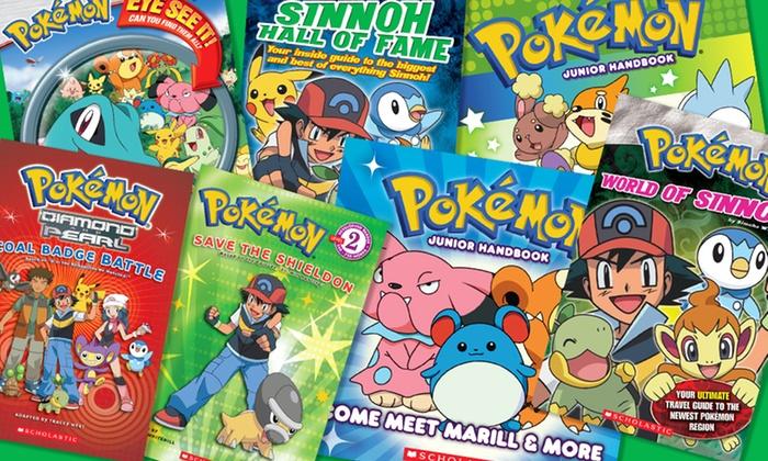 Pokemon Book Bundle: Pokemon 7-Book Bundle