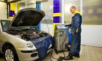 Car Air Conditioning Service with Re-Gas at Motorworld Cambridge