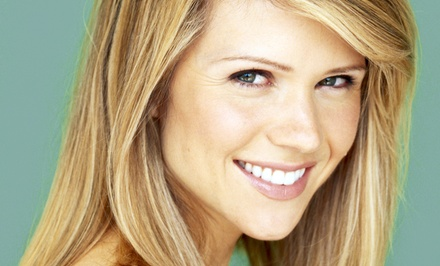 Moroccanoil Package with Optional Color or Highlights at Sorelle (Up to 69% Off). Three Options Available.