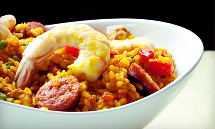 Chateau of Spain - Newark Central Business District: $20 Worth of Spanish Food