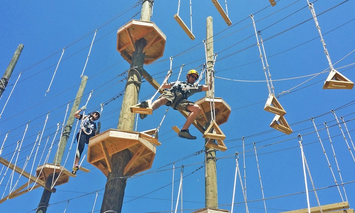 Kersey Valley - Archdale: $39 for High Ropes Course Experience for Two People ($64 value)