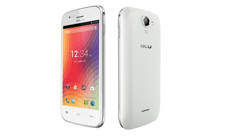 BLU Advance 4.0 4GB GSM Unlocked Android Smartphone in Black or White with 1.3GHz Dual-Core Processor