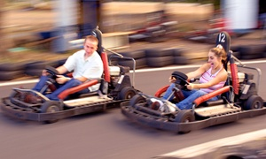 Go Kart Races and Mini-Golf for 5, or Go-Kart Races for 2 at Cooter's Place (Up to 58% Off). 3 Options Available.