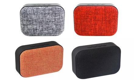 1 o 2 speaker Bluetooth wireless disponibili in 4 colori