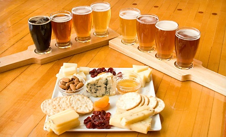 1 Cheese Plate and Beer Flights for 2 (a $30 value) - Wisconsin Cheese Mart in Milwaukee