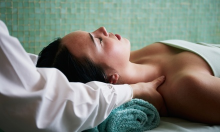 One or Two Custom Massages with Foot Treatments at Bliss Unisex Day Spa (Up to 57% Off)