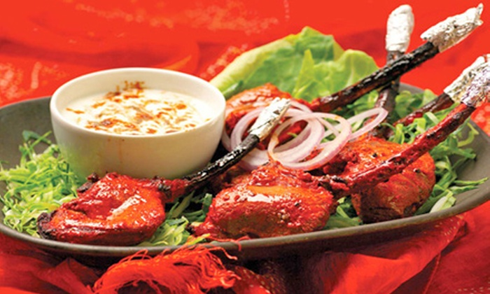 Patiala - Garment District: Indian Entrees and Drinks for Two, Four, or Six at Patiala (Up to 57% Off)