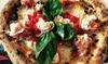 Bottega Ghiotta: Menu pizza in piazza Diaz