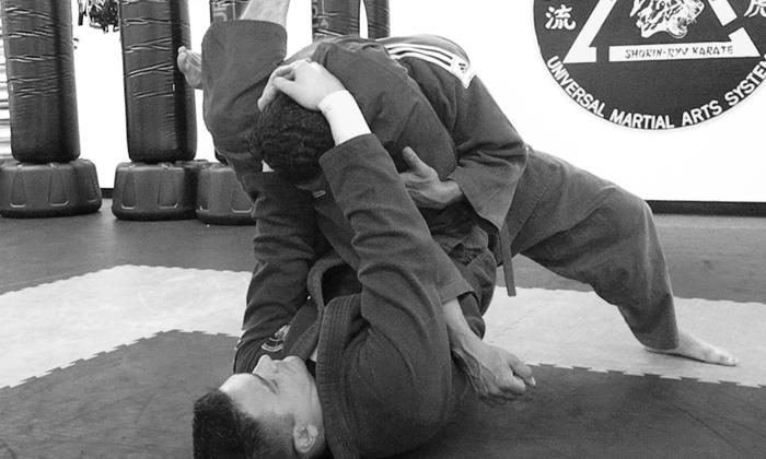 Rodney Cheeseman Karate & MMA Studio - Farmington: Up to 50% Off 1 Month Jiu Jitsu and Judo  at Rodney Cheeseman Karate & MMA Studio