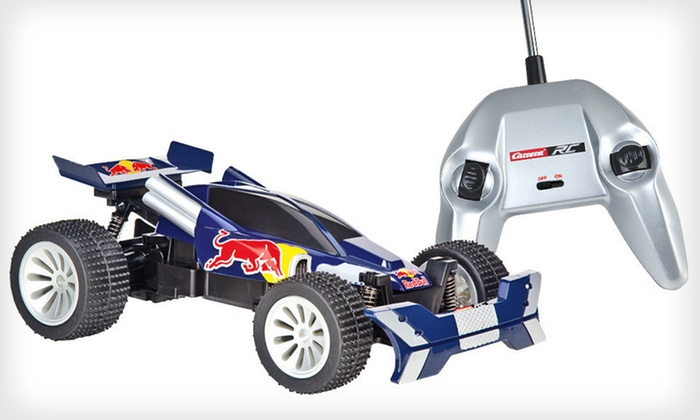 Red Bull R/C Car: $59 for a Red Bull Buggy, Groupon Goods–Exclusive RC Car ($99.99 List Price). Free Shipping and Free Returns.