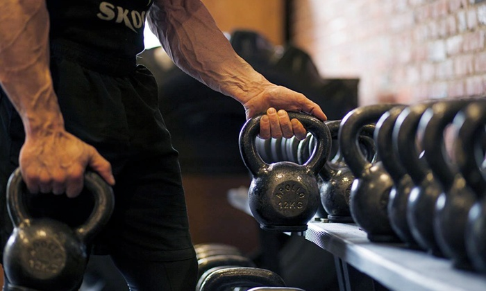 Skogg Gym - Northwest Industrial: 5 or 10 Kettlebell Classes at Skogg Gym (Up to 70% Off)