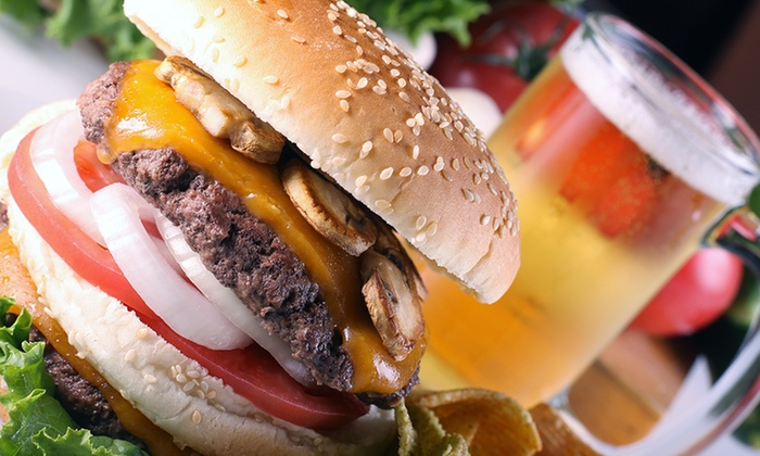 Brisku's Bistro - Irving Park : Burgers and Craft Beer for Two or Four at Brisku's Bistro (Up to 44% Off)
