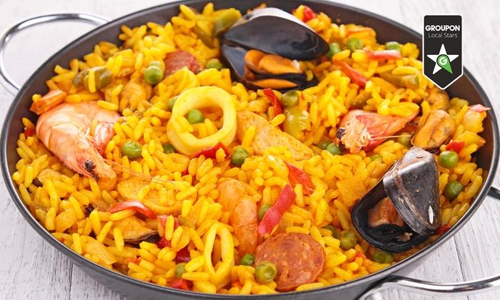 Trattoria del Grappolo - LA VIGNASSA: Tapas, paella all you can eat, tris di dolci, litro di sangria o in più spettacolo di flamenco (sconto fino a 69%)