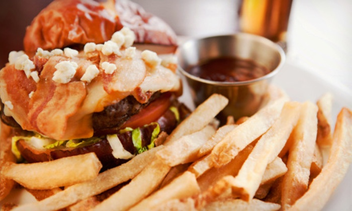 Split Crow Pub - Bedford: Pub Food for Two or Four at Split Crow Pub (Up to 52% Off)