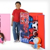 Children's Disney or Marvel Standing Closet Organizer