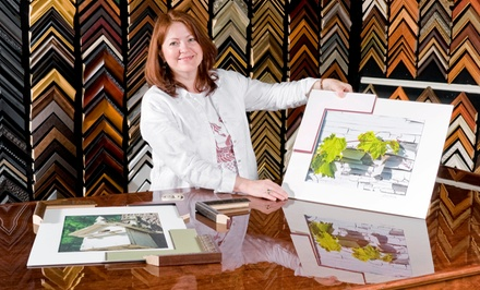 $39 for $100 Worth of Custom-Framing Services at Artistic Picture Framing