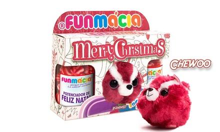 Funmácia: Christmas Pack com dois frascos de gomas e peluche Yoohoo & Friends por 7,95€