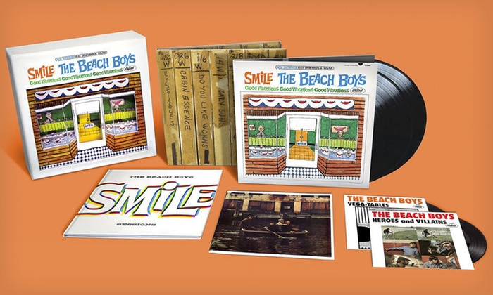 "The Beach Boys ""Smile Sessions"" Box Set: $99 for the Beach Boys ""Smile Sessions"" Box Set ($165 List Price). Free Shipping and Free Returns."