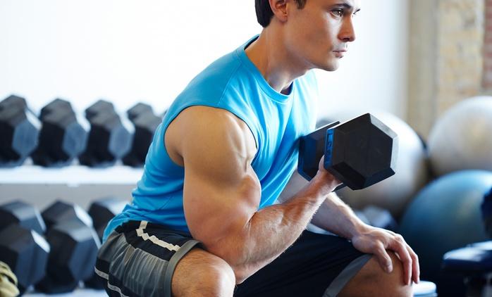 One Month Gym Membership at Al Forsan International Sports Resort (57% Off)