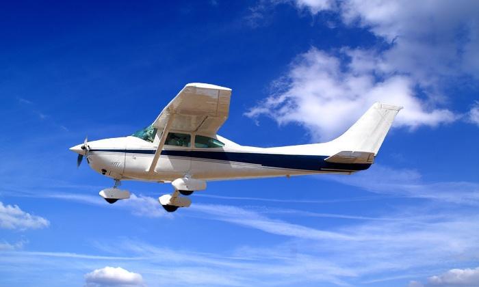 Der Spassvogel - Der Spassvogel: Selbst Pilot sein beim Rundflug am Doppelsteuer mit Fluglehrer von Spassvogel ab 124,50 € (50% sparen*)