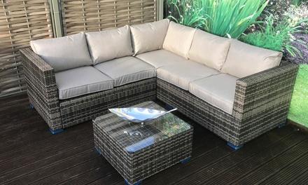 Corner Sofa with Coffee Table