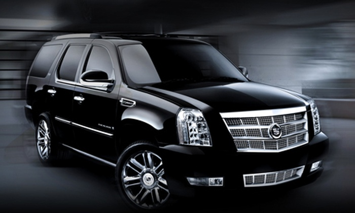 Cornerstone Elite Limousines - Houston: $39 for One-Way Chauffeured Car Service to or from the Airport from Cornerstone Elite Limousines (Up to $125 Value)