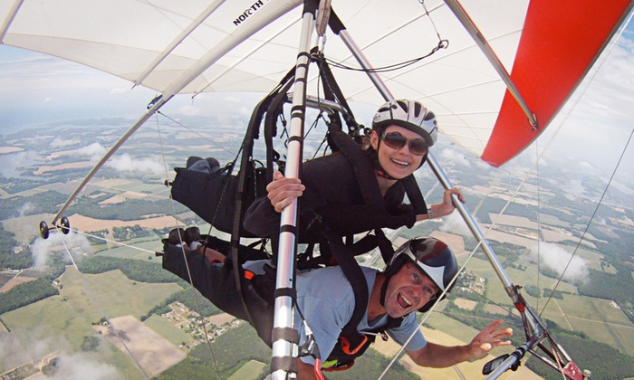 Virginia Hang Gliding - Accomack County Airport: $165 for One Tandem Hang Gliding Flight and Lesson at Virginia Hang Gliding ($299 Value)