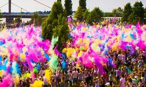 Holi Festival: 2 Karten für das Holi Festival am 20.08. ab 12 Uhr in Karlsruhe inkl. je 1 Farbbeutel für 22,97 Euro (50 % sparen)