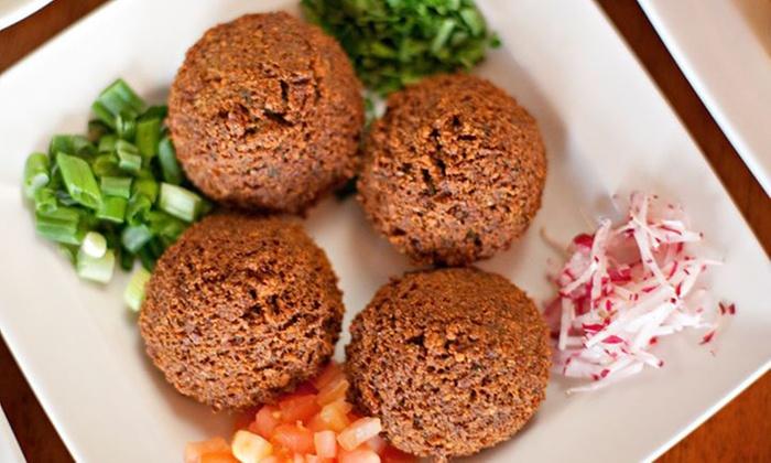 Lebanese Taverna Cafe - Multiple Locations: Lebanese Cuisine at Lebanese Taverna Cafe (Up to 40% Off)