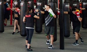 UFC Gym: One Week or One Month of Membership with Unlimited Fitness Classes at UFC Gym (Up to 71% Off)