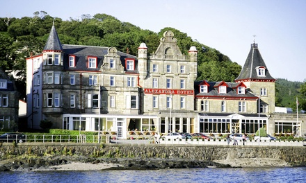 Oban: 1 to 3 Nights for Two with Breakfast and Optional ThreeCourse Dinner and Prosecco at Muthu Alexandra Hotel