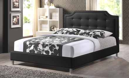 Modern Upholstered Tufted Platform Beds
