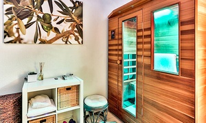 Perspire Sauna Studio: Four Infrared Sauna Sessions or Month of Unlimited Sauna Sessions at Perspire Sauna Studio (Up to 70% Off)