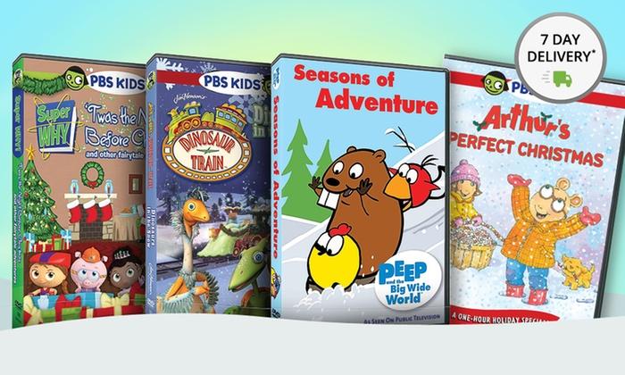 PBS Kids Holiday 4-DVD Set | Groupon Goods