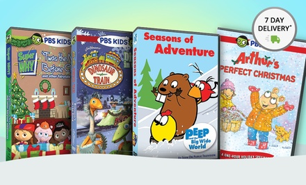 PBS Kids Holiday 4-DVD Collection. Free Returns.