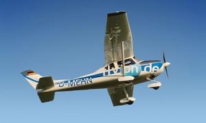 Ultraleichtflugschule flyon.de: 25 oder 45 Minuten Rundflug inkl. Briefing und Videoaufnahme mit der Ultraleichtflugschule flyOn ab 59 €