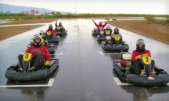 Musselman Honda Circuit - Tucson: $30 for Three Kart Races with Protection Gear Provided at Musselman Honda Circuit (Up to $90 Value)