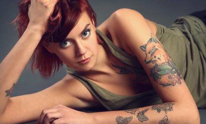 Pain4Ink - Tatuaggi E Piercing - Pain4ink - Tatuaggi e Piercing: Buono sconto del valore di 125 € a 16 € per un tatuaggio