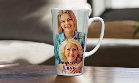 Personalisierte Latte-Fototasse von Printerpix