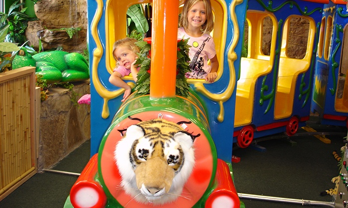Indoor Safari Park - Flower Mound: $5 for Kids' Outing with Rides and Access to Play Areas at Indoor Safari Park ($9.99 Value)